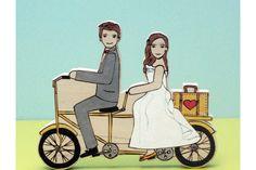 Wedding cake topper idea. Company: Star House