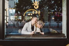 Engagement Photo- The Honeymoon Cafe & Bar Houston @wedinhouston