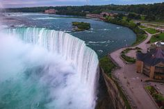 3,160 tons of water flows over Niagara Falls every second. The falls are made more spectacular at sunrise when the golden orb pushes through mile-high mist. Watch my film, Niagara. I first visited Niagara Falls in 2009. I was one week married and honeymooning in New York. On a road trip, the Hubs took a...