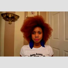 I love her hair. Going to see if I can achieve this.