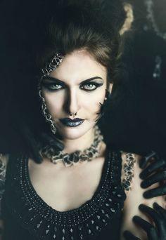 """Death"" — Photographer: Natasha Raichel Hair: Belinda Hackworth Makeup: Jemma Domenica Model: Brooklyn Wilson"