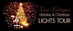 grand rapids holiday and Christmas lights tour