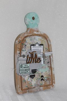 » Tea time  » par Créativity Scrap – Liberty Scrap Magazine