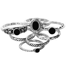 New in today - Eventide Ring Set Check it out here http://www.bohomoon.com/products/eventide-ring-set?utm_campaign=social_autopilot&utm_source=pin&utm_medium=pin