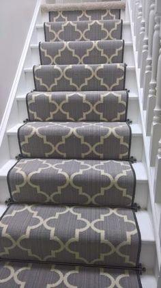 Axminster Carpets Royal Borough Trellis Steel Mid Grey Stair Runner