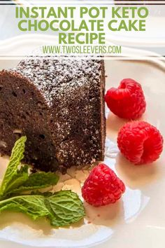 Keto chocolate cake with walnuts will satisfy your sweet tooth if you are low-carb or Keto! This Keto dessert is sweet with a deep chocolate flavor. Make this mouth-watering low carb, gluten-free Chocolate Cake in your oven or your Instant Pot with just a few ingredients. Low Carb Brownie Recipe, Keto Chocolate Recipe, Gluten Free Chocolate Cake, Low Carb Chocolate, Gluten Free Pound Cake, Gluten Free Cupcakes, Instant Pot Cake Recipe, Low Carb Candy, Low Carb Ice Cream
