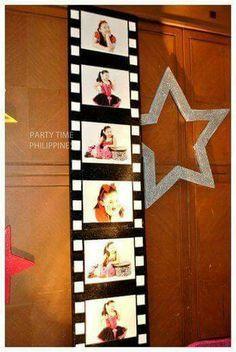 "Photo 1 of Rockstar / Fashion / Hollywood / Birthday ""Cassey's Rockin Party!"" Catch My Party Rockstar Party, Rockstar Birthday, Dance Party Birthday, Bday Girl, 10th Birthday, Deco Cinema, Cinema Party, Star Wars Party, Movie Night Party"