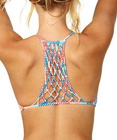 macrame bikini top