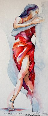 "Contemporary Painting - ""timeless movement"" (Original Art from segismundoart)"