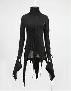 Punk-Rave-steampunk-bloomers-pirates-mermaid-ruffles-bustle-lining-long-skirt