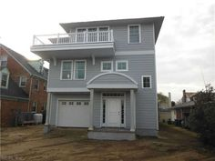 Residential Property in Virginia Beach VA for $975,000.VACATION ALL YEAR LONG IN THIS NEW CONSTRUCTION HOME. ENJOY OCEAN VIEWS FROM INSIDE AND OUT. READY SPRING 2013. LARGE DECK, GARAGE, HARDWOOD FLOORS, TRAVERTINE TILE IN MASTER BATH, GRANITE, BACK YARD AND PATIO, PLUS AN ELEVATOR!