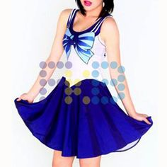 Vestido de licra de #SailorMercurio #cosplay #SailorMoon #fkb