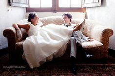 {Mariage Château de Béduer} Caroline-Fleur & Thibault. Une belle mariée en Delphine Manivet !! #wedding #mariage #bride #groom #france