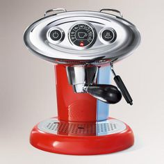I will continue to estheticaly crush on you from afar oh gorgeous espresso maker ;) due to your price tag and my abhorrence for coffee I will continue to maintain my distance!