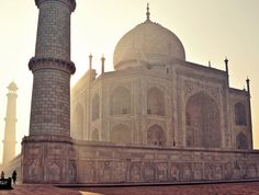 Taj Mahal - When in the presence of something so divine, just be. By Colin Roohan