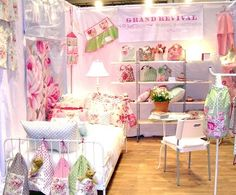Pink and pretty booth. No additional information or photos.