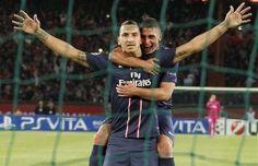 "PSG - Verratti : ""Zlatan, un génie"" - http://www.europafoot.com/psg-verratti-zlatan-un-genie/"