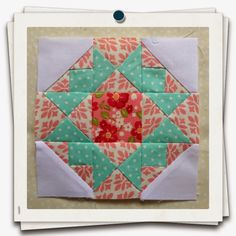 This weeks little stunner is called Crowning Glory and I think its my favorite block so far! I do...