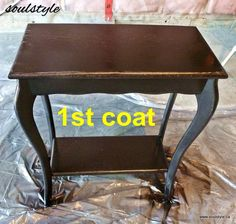 lots of DIY upgrade furniture tips Spray Paint Furniture, Painted Furniture, Bronze Spray Paint, Spray Painting, Decorating Blogs, Repurposed, Tables, New Homes, Coat