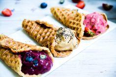 Gluteenittomat ja vegaaniset jädevohvelit
