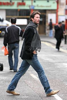 Keanu Reeves street style is on point