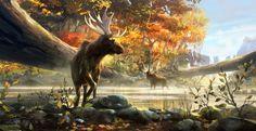 Autumn Moose by Tuomas Korpi