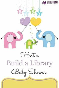 Are you or someone you know expecting?   Have an Usborne Books & More  Baby Shower and start your new arrivals library!