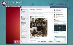 「SocialPanel」無料セール中! ー 複数のSNSに対応した専用ブラウザ
