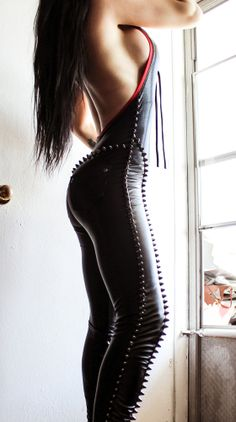 TOXIC VISION WAR CATSUIT