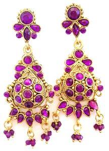 Stunning Bollywood Sunila Earrings