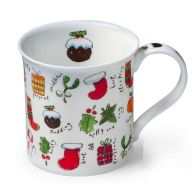 BBC America Shop - Dunoon Little Bits of Christmas British Christmas Mug Christmas Dinnerware, Christmas Mugs, Christmas Themes, Holly Christmas, Christmas Decorations, Holiday, Three Wise Men, Bbc America, Save The Queen