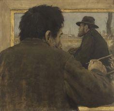 Jean-François Raffaëlli - Peinture d'artiste 1879