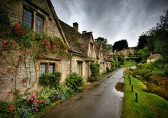 Arlington Row : Bilbury Glouchestershire Cotswalds - Photography:England- One of the top places on my bucket list!