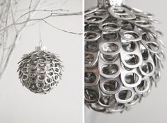 Upcycled xmas ornament