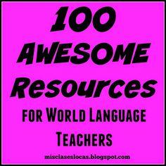 Mis Clases Locas: 100 Resources