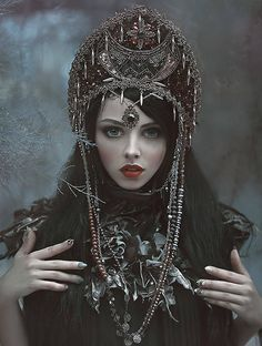 Model: Mamiko Photo: A.M.Lorek Photography MUA: Jola Gorzelak Visage Art// A.M.Lorek Photography Fashion designer: Bibian Blue Welcome to Gothic and Amazing  www.gothicandamazing.org