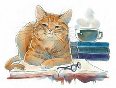 – Tap the link now to see all of our co… Funny orange cat illustration – Cat art. – Tap the link now to see all of our cool cat collections! I Love Cats, Crazy Cats, Cool Cats, Funny Orange, Book Cupcakes, Gatos Cats, Watercolor Cat, Cat Drawing, Drawings Of Cats