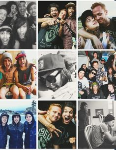 Pierce the Veil and blessthefall
