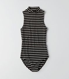 American Eagle Outfitters First Essentials Mock Neck Bodysuit Quirky Fashion, Star Fashion, Simple Outfits, Cool Outfits, Girly Outfits, Outfits 2016, Fashion Outfits, Cute Bodysuits, Mens Outfitters