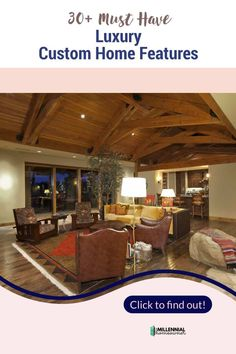 Need custom home ideas? Here are 30+ cool luxury custom home features that you can incorporate into your custom built house. These unique custom home ideas will transform your new house. New Home Checklist, Looking For Houses, Refinance Mortgage, Home Buying Tips, Custom Built Homes, First Time Home Buyers, Brick And Stone, Home Security Systems, At Home Gym