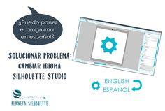 Cambiar el idioma de Silhouette Studio a español