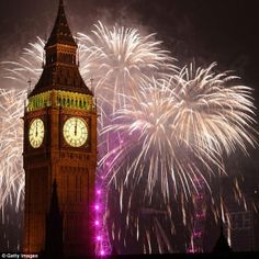 #BigBen during the yearly #NewYears celebrations