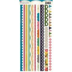 Crate Paper - Random - Border Stickers