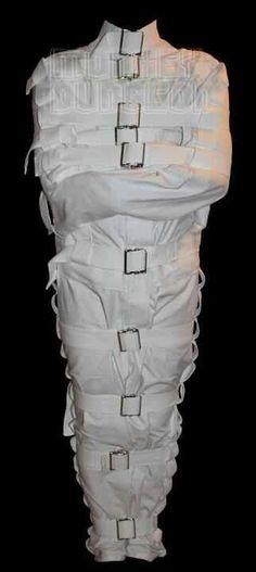 The Mummy Full body Straight Jacket straitjacket Asylum Halloween, Halloween Stuff, Jacket Style, Full Body, Cosplay Costumes, Womens Fashion, High Fashion, Jackets, How To Wear