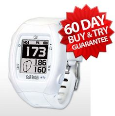 Special Offers - Golf Buddy WT3 GPS Watch (NEW VERSION) | 60-Day Buy & Try Return Policy! (White) - In stock & Free Shipping. You can save more money! Check It (March 24 2016 at 11:27PM) >> http://cargpsusa.net/golf-buddy-wt3-gps-watch-new-version-60-day-buy-try-return-policy-white/