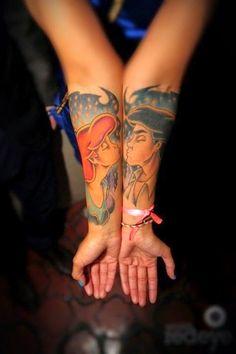 Los 10 mejores tatuajes de personajes de Disney - Mas tatuajes en http://tattoo-tattoos.biz