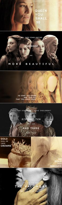 Cersei's Prophecy #got #asoiaf