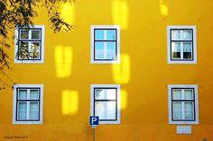 Yellow Facade by Miguel Côrte-Real Matias
