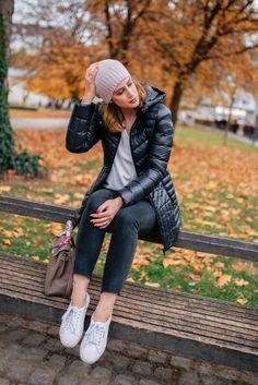Shop Le Monde in Black Bernardo Fall Jacket