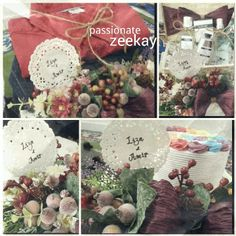 The engangement.. rustic theme